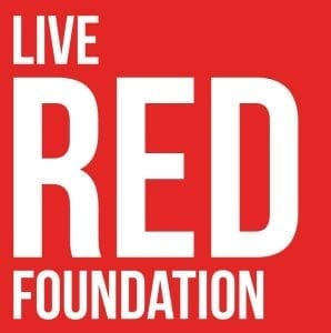 The Live Red Foundation - logo